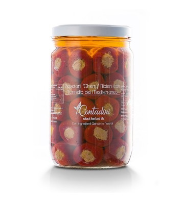 Peperoni Cherry Ripieni Tonno